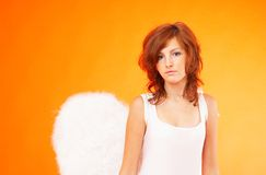 Pretty Angel 3 Royalty Free Stock Images