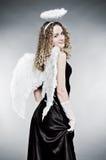 Pretty angel Stock Photos