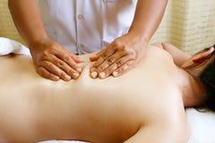 Pretty asia women relaxing in the spa salon , spa body reflexolo Stock Photography