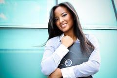 A pretty asian business woman stock photo