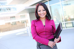 Pretty Asian Business Woman Royalty Free Stock Photos