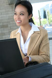 Pretty Asian Business Woman Royalty Free Stock Image