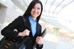 Pretty Asian Business Woman Stock Photo