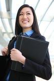 Pretty Asian Business Woman Royalty Free Stock Photo