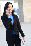 Pretty Asian Business Woman Royalty Free Stock Photography
