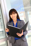 Pretty Asian Business Woman Stock Photo