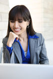 Pretty Asian Business Woman Royalty Free Stock Photo