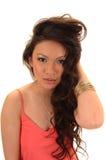 Pretty Asian Girl. Stock Photo