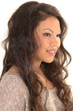 Pretty Asian girl. Royalty Free Stock Photos