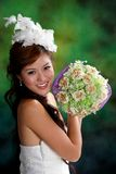 Pretty asian girl Stock Image