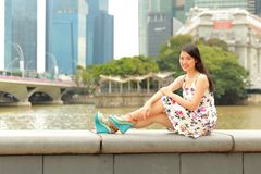 Pretty Asian girl Stock Photos