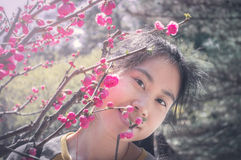 Pretty Asian girl Royalty Free Stock Photo