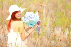 Pretty Asian girl royalty free stock image