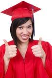 Pretty Asian Graduate Woman Stock Photos