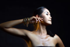 Pretty asian model Royalty Free Stock Photography