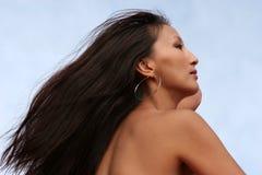 Pretty Asian woman Stock Photography