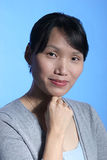 Pretty Asian woman 2. A portrait of a pretty Korean woman Royalty Free Stock Photography