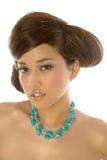 Pretty asian woman Stock Image