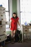 Pretty Asian woman. Royalty Free Stock Photos