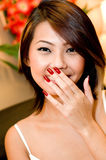 Pretty Asian Woman Royalty Free Stock Photos