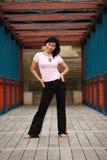 Pretty Asian Woman Royalty Free Stock Photo