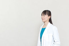 Pretty Asian woman doctor Royalty Free Stock Photo