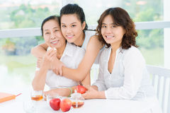 Pretty asian women Stock Images