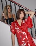 Pretty Asian women Royalty Free Stock Photography