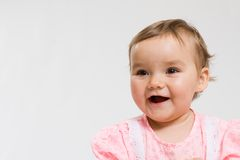 Pretty baby Royalty Free Stock Images