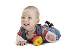 Pretty baby Stock Images