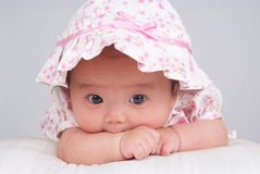 Pretty baby Stock Photo