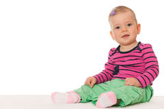 Pretty baby girl Royalty Free Stock Photography