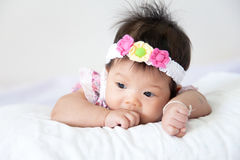 Pretty baby girl Stock Photos