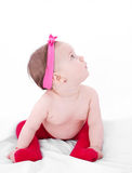 Pretty baby girl Stock Images