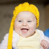 Pretty baby of tender Royalty Free Stock Photo