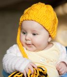 Pretty baby of tender Stock Images