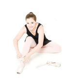 Pretty Ballerina Royalty Free Stock Photography