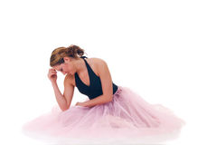 Pretty ballerina Royalty Free Stock Photos