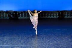 Pretty ballerina Stock Photos