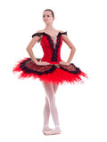 Pretty ballerina posing Royalty Free Stock Images