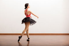 Pretty ballerina wearing a tutu Royalty Free Stock Photography