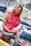 Pretty Beautiful Woman Stock Image