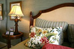 Pretty Bedroom stock image