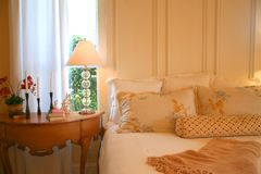 Pretty  Bedroom Royalty Free Stock Images
