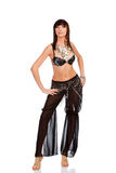 Pretty belly dancer Royalty Free Stock Photography
