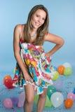 Pretty Birthday Girl Royalty Free Stock Image