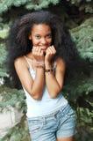 Pretty Black Girl Stock Photo