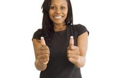 Pretty Black Woman Stock Image