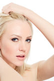 Pretty blond Royalty Free Stock Image