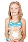 Pretty blond girl. royalty free stock photos